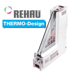 Профиль Rehau Thermo Design
